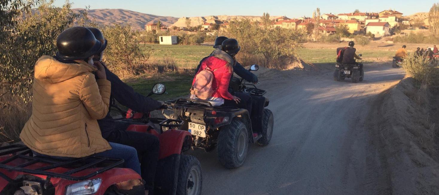 atv i kappadokien, atv i cappadocia, atv tur i kappadokien, oplevelser i kappadokien, oplevelser i cappadocia, oplevelser i Göreme