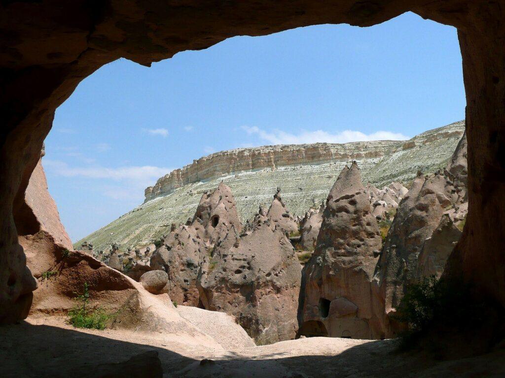 cave 277025 1920 2 1024x768 - Natur billeder af Kappadokien