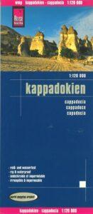 kappadokien rejsekort 131x300 - Danske bøger om Kappadokien og Tyrkiet