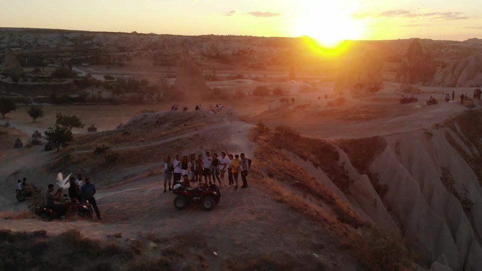 atv tur i solnedgangen - Book dine Kappadokien oplevelser online med Getyourguide