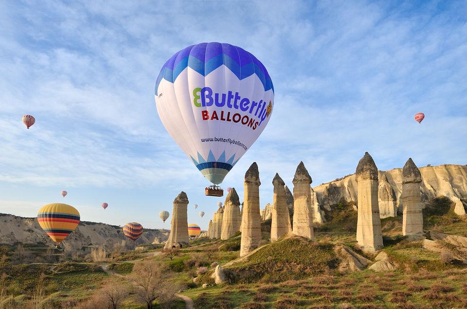 luftballon i kappadokien - Book dine Kappadokien oplevelser online med Getyourguide