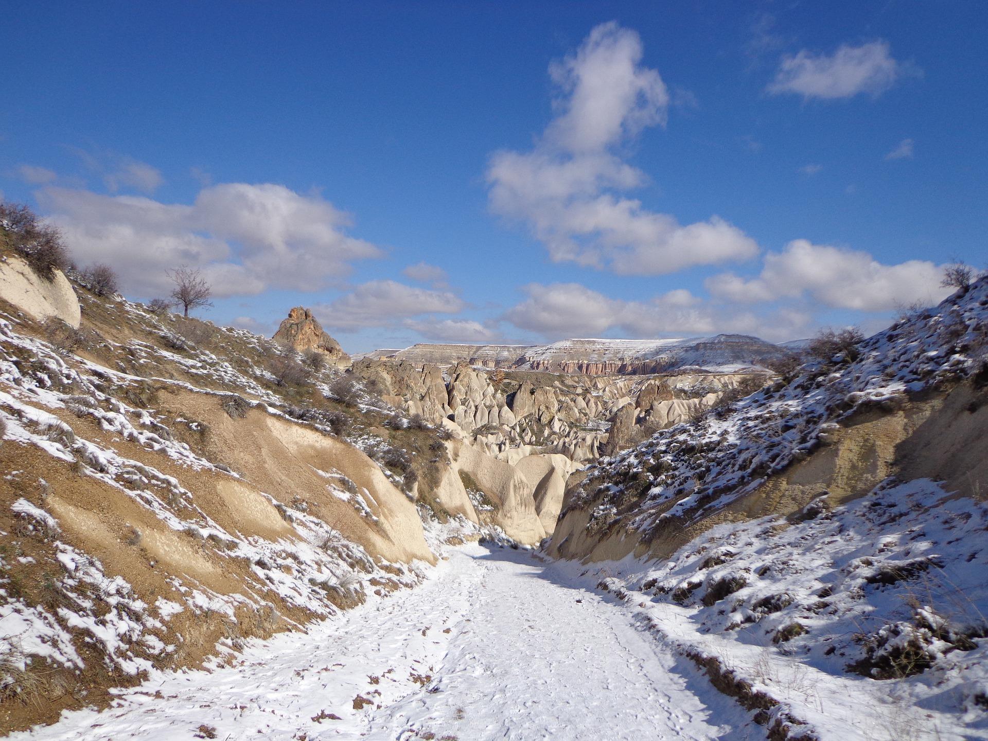 vinterbilleder af kappadokien