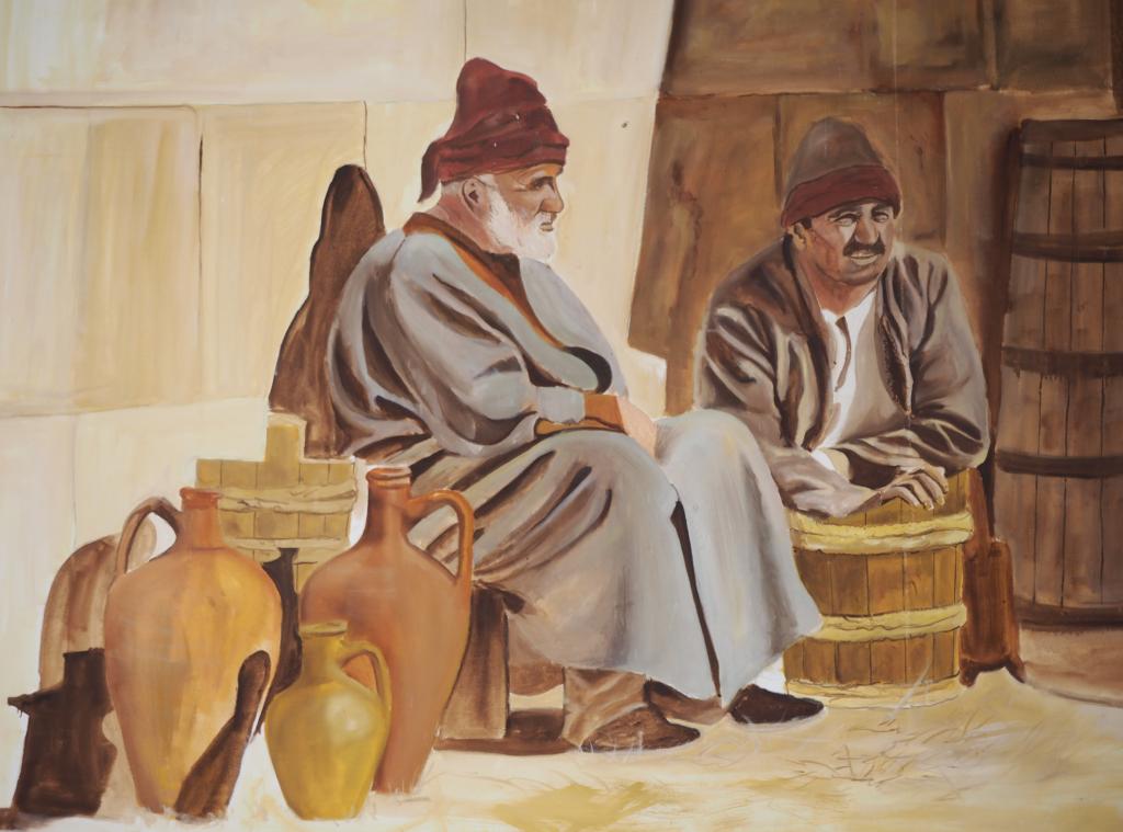 livet på en karavanestation i tyrkiet 1024x759 - Sarihan Karavanestation i Kappadokien