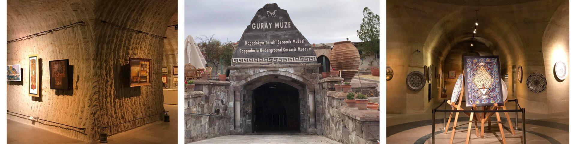 güray museum i kappadokien, güray museum i cappadocia, oplevelser i kappadokien, oplevelser i cappadocia, oplevelser i avanos, museer i avanos, keramik værksted i avanos,