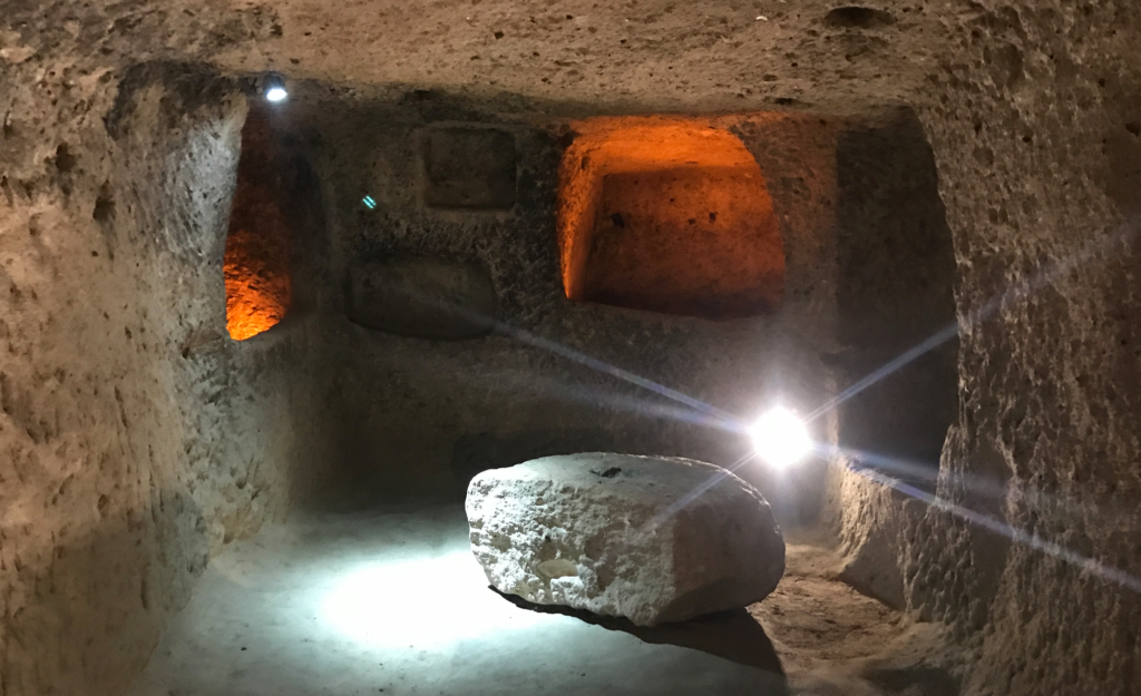 kaymakli underjordisk oplevelse i kappadokien 1024x625 - Kaymakli - underjordisk by i Kappadokien