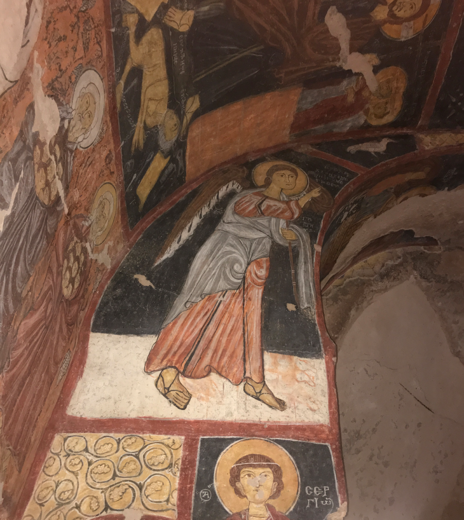 Karşı Kilise st. jean kirke cappadocia 914x1024 - St. Jean kirke i Gülsehir, Kappadokien