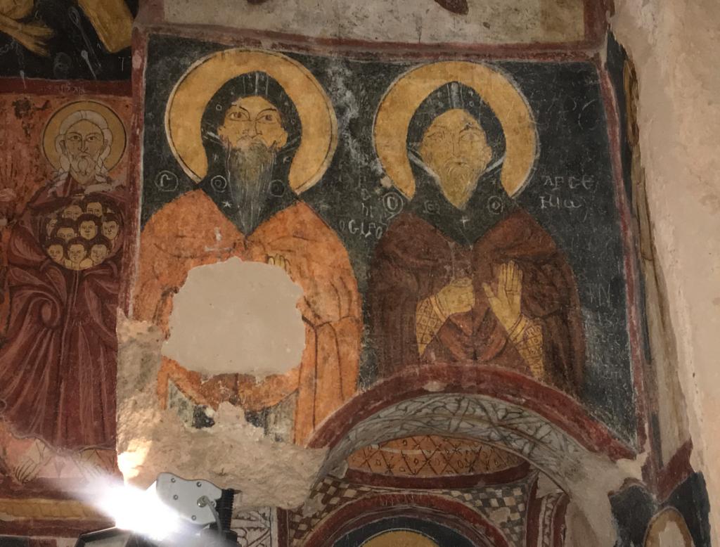kristendom i kappadokien Tyrkiet 1024x778 - St. Jean kirke i Gülsehir, Kappadokien