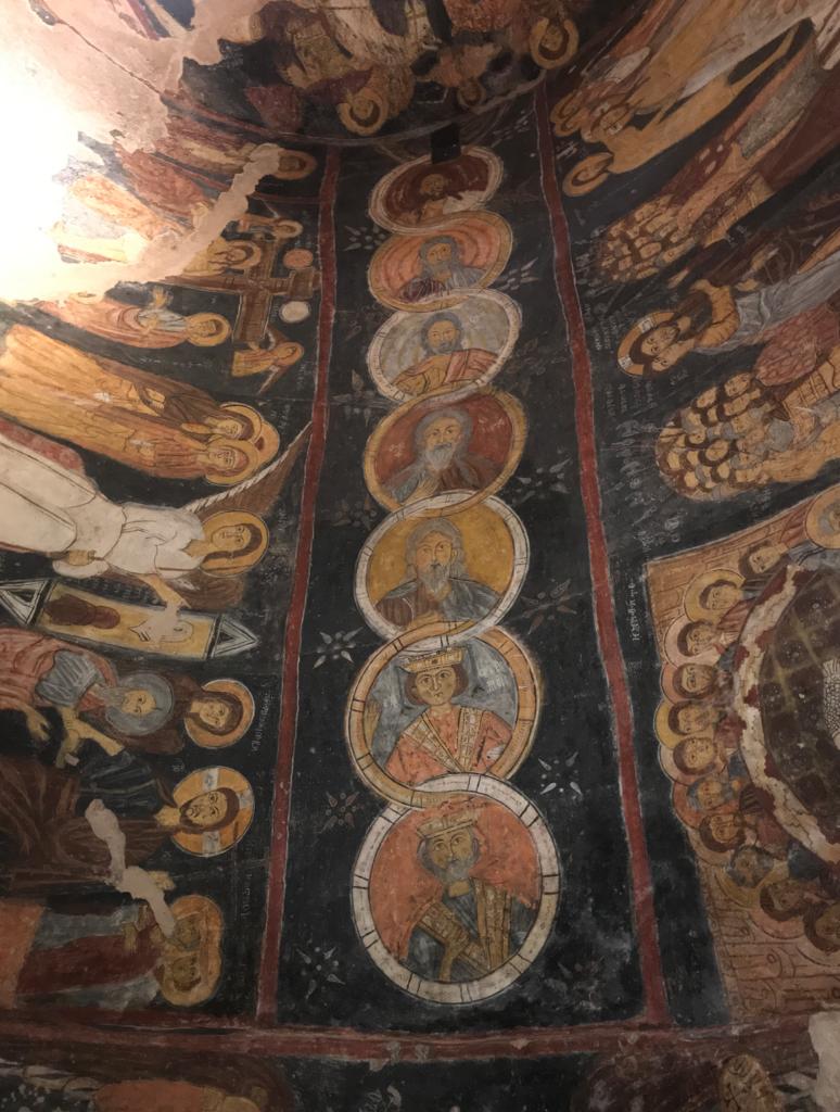 kristne motiver i kappadokien 774x1024 - St. Jean kirke i Gülsehir, Kappadokien